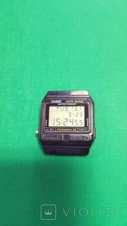 Часы Casio Databank DB 31, фото №4