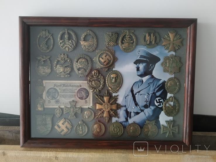 Коллаж с Германских наград. Копии., фото №3