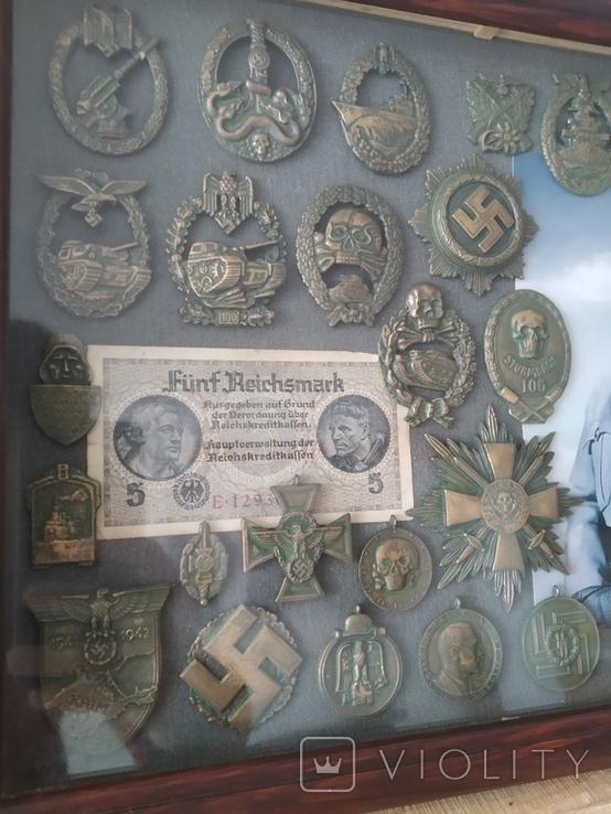 Коллаж с Германских наград. Копии., фото №6
