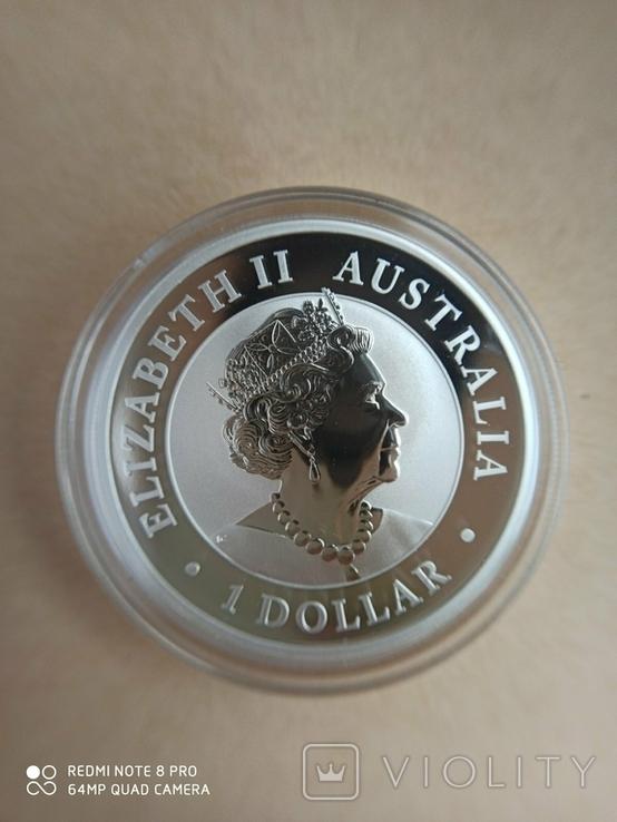 Австралійський Ему 2020 1 унція срібла, фото №8