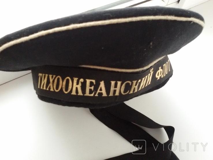 Бескозырка Тихоокеанский флот СССР, фото №2