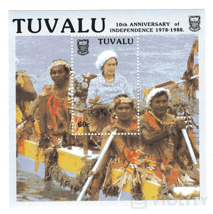 Тувалу 1988 - 10 лет независимости