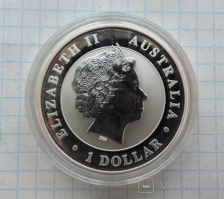 1 доллар 2012 года Кукабарра Австралия (6), фото №3