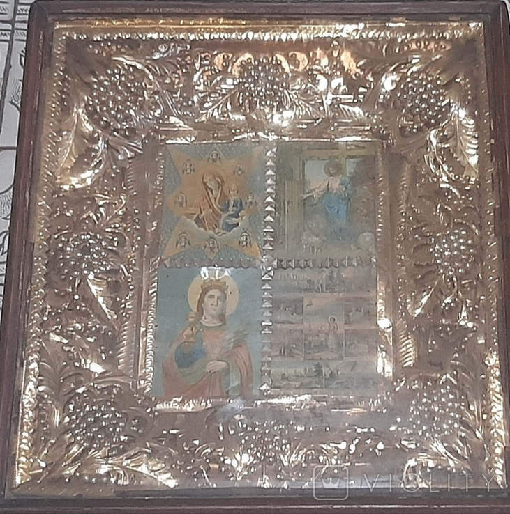 Колекція ікон 6 шт. (1 лотом), фото №6