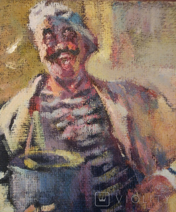 "1985,В.Кнышевский ""Кок"",х.м.35*25см, фото №4"