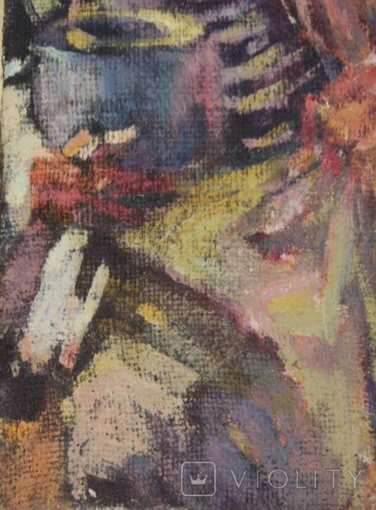 "1985,В.Кнышевский ""Кок"",х.м.35*25см, фото №7"