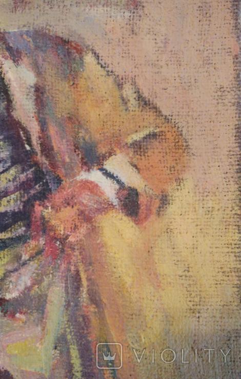 "1985,В.Кнышевский ""Кок"",х.м.35*25см, фото №8"
