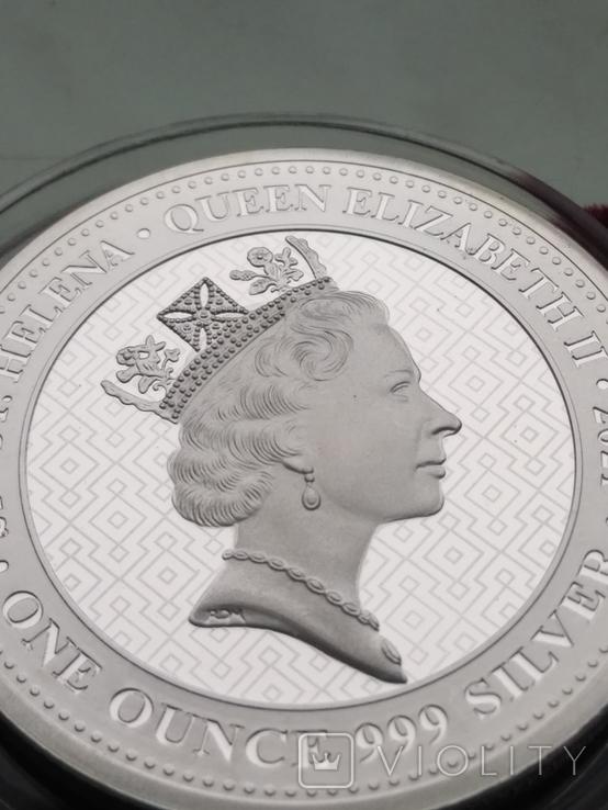 Победа Гармония Достоинства Королевы серебро 999 унция Первая в серии Виктория чудовища, фото №9