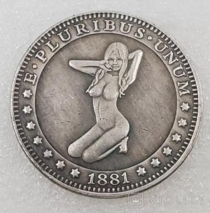 1 доллар США Хобо копия X-46, фото №2