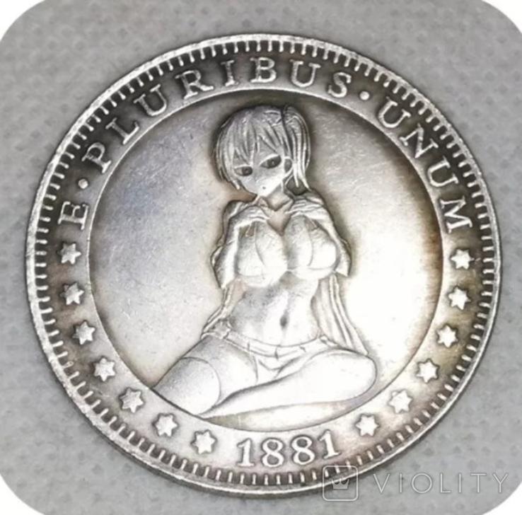 1 доллар США Хобо копия X-44, фото №2