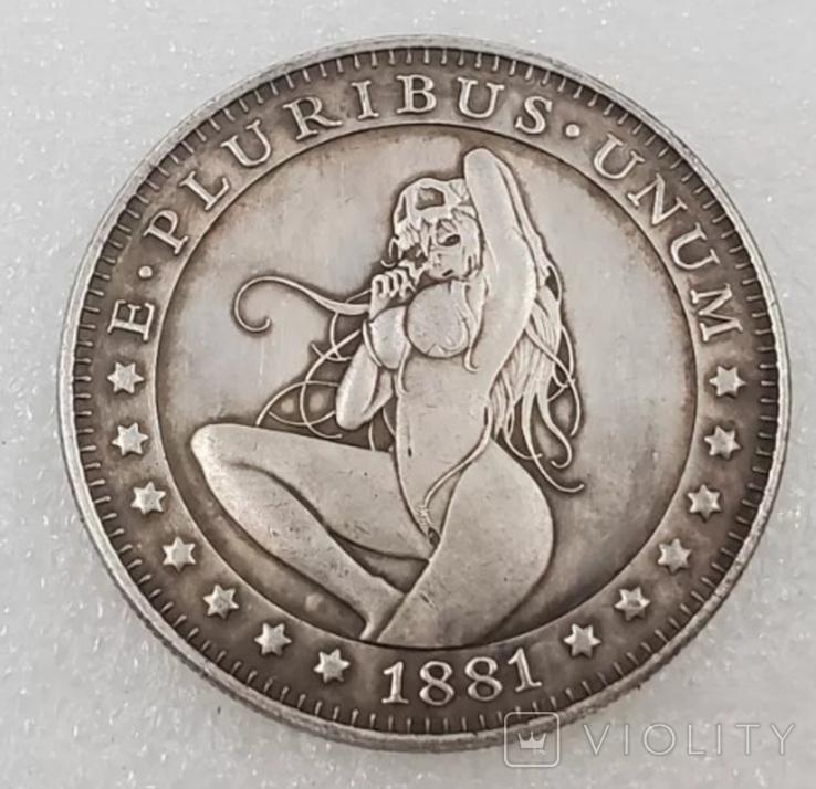 1 доллар США Хобо копия X-47, фото №2