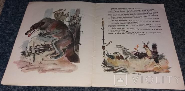 """Д. Мамин-Сибиряк. """"Сказка про храброго зайца - длинные уши"""". 1978 г., фото №6"""