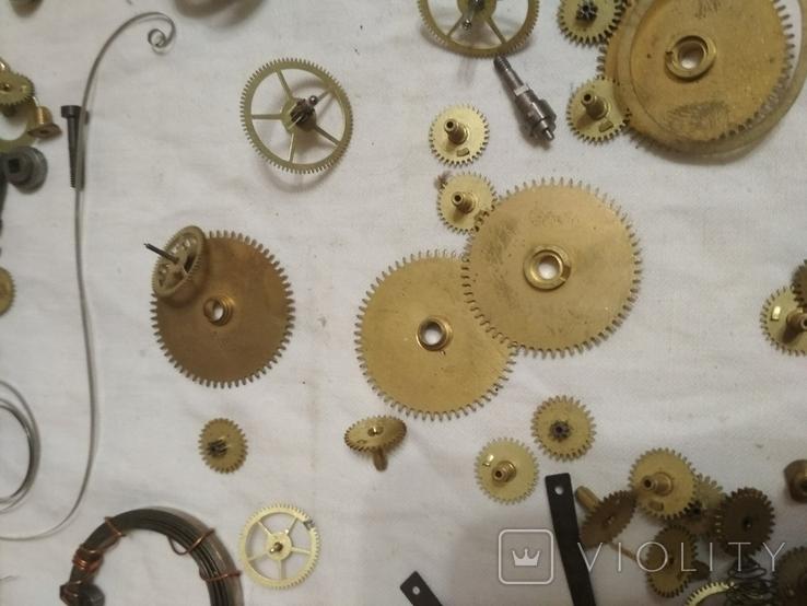 Запчасти механизмов интерьерные часы разные, фото №6