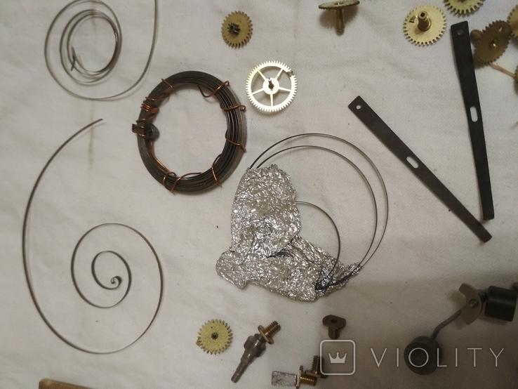 Запчасти механизмов интерьерные часы разные, фото №7