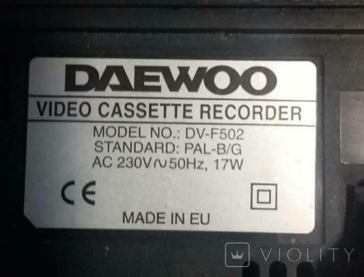 Відеокасета DAEWOO, фото №2