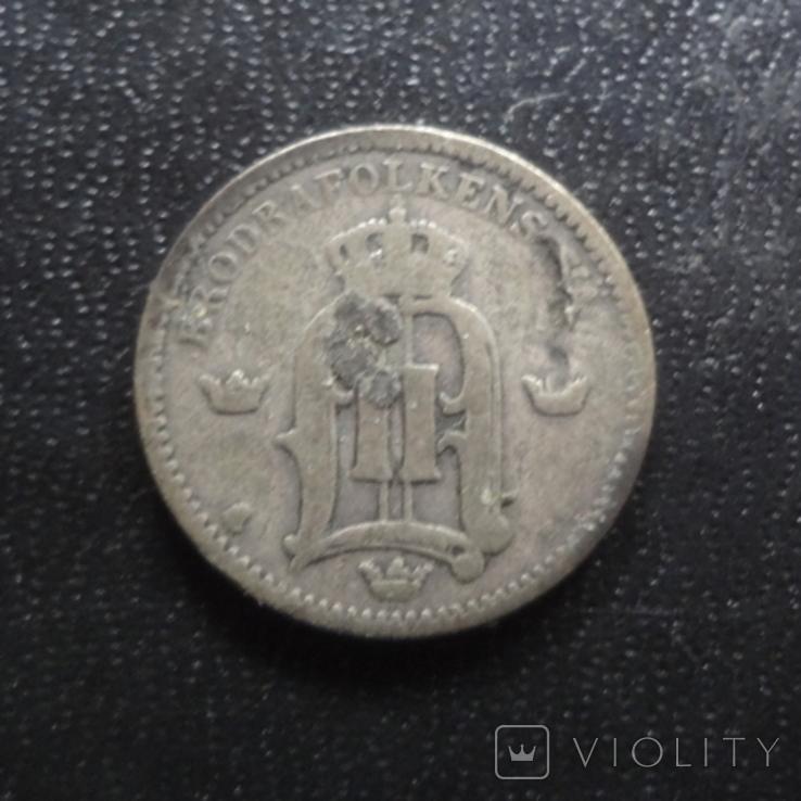 25 эре 1902 Швеция серебро (П.1.1), фото №3