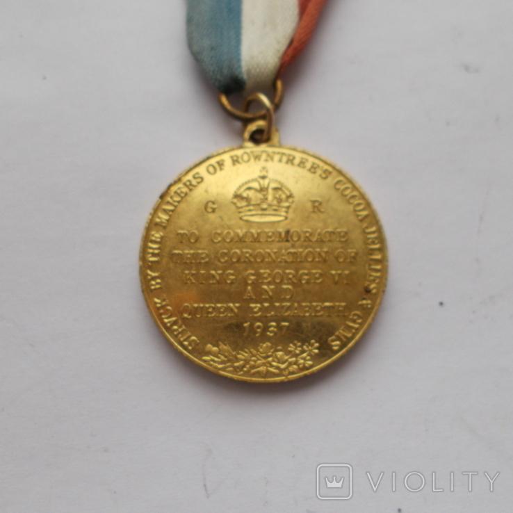 Великобритания. Памятная медаль. Коронация. 1937 г., фото №5