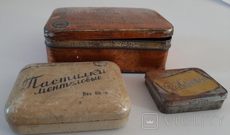 Жестяные коробочки-3шт, фото №2