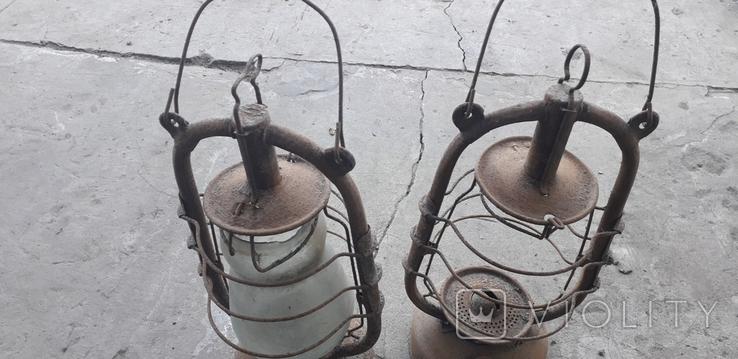 Киросиновые лампы 3 шт., фото №3