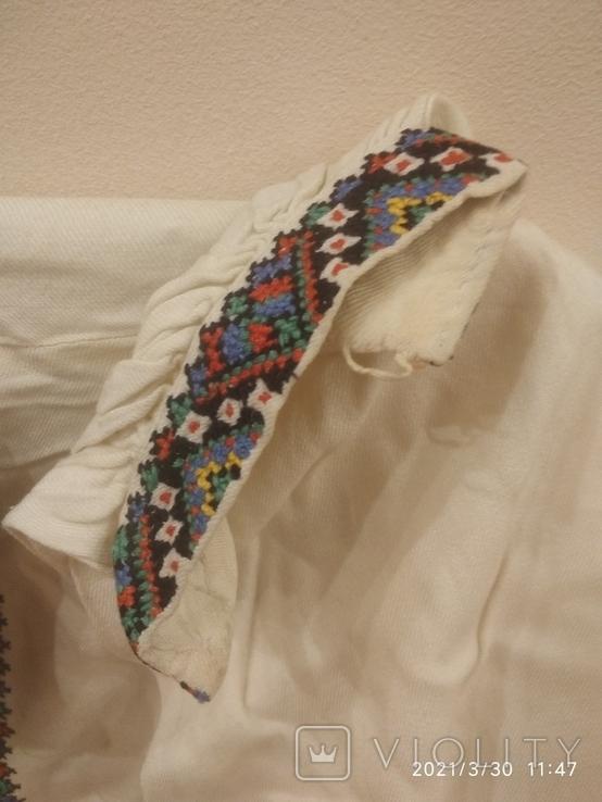 Старинная мужская вышиванка (довоенная ), ручная работа, фото №5