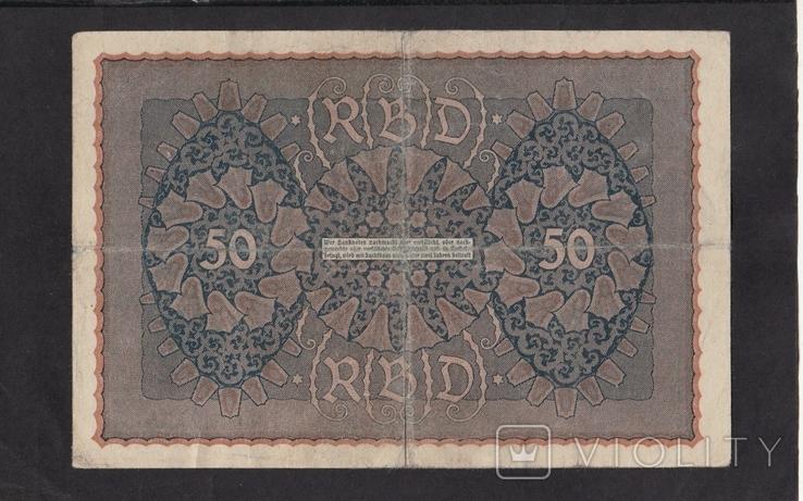 50 марок 1919г. Рейх 1. 962551. Германия., фото №3