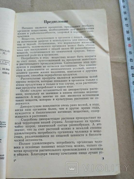 Растительно-молочно-яичные блюда 1982р, фото №7