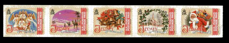 Джерси 2009 - Новый год. Рождество. 5 м. стик