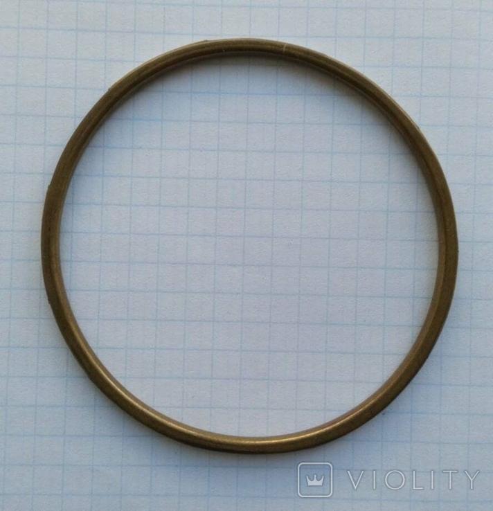 Браслет Бронза с перламутровыми вставками ( тоненький 3.5 мм), фото №5