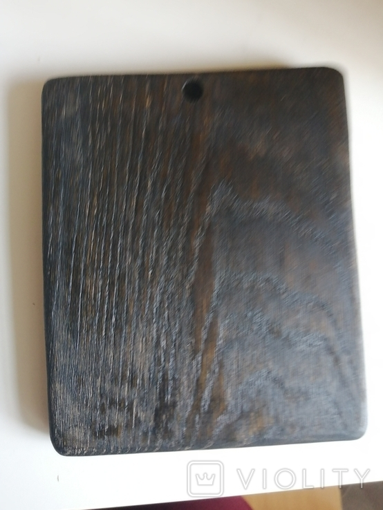 Икона Покрова из дерева дуб 18,5*15, фото №5