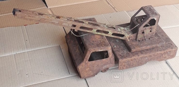 Машина Большой КРАН времён СССР, фото №2