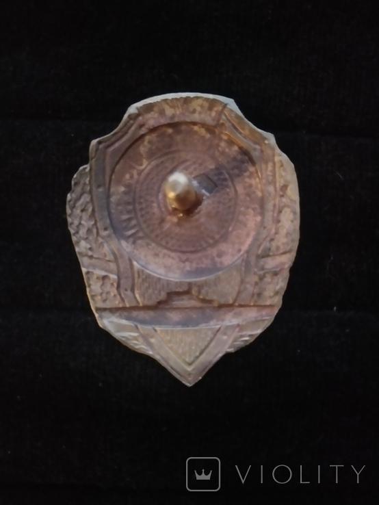 Знак отличный подводник, копия, фото №3