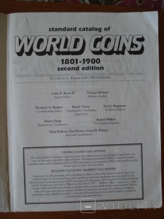 Стандартный Каталог Монет Мира C.Krause 1801-1900 г.г., фото №5
