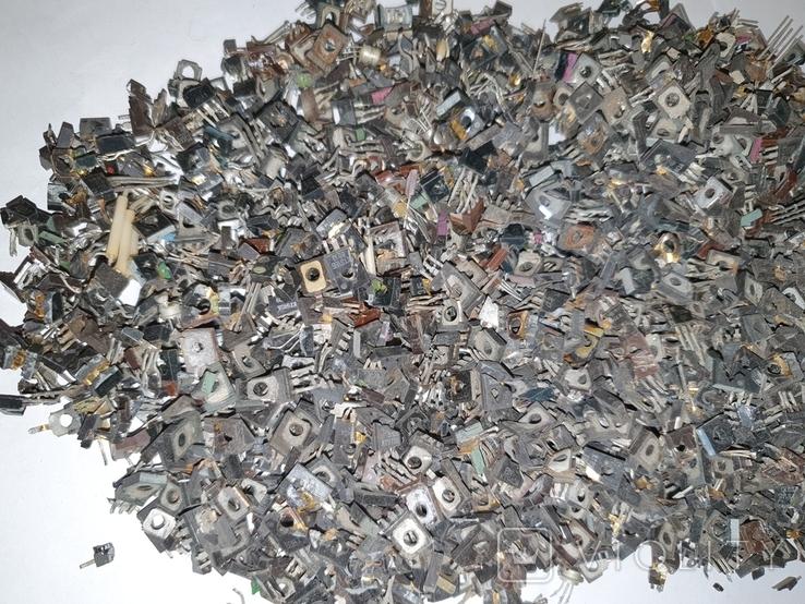 Транзисторы 814 ,940 , блошки, позолота, фото №3