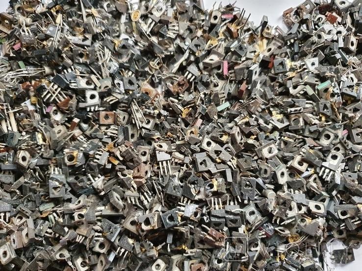 Транзисторы 814 ,940 , блошки, позолота, фото №4