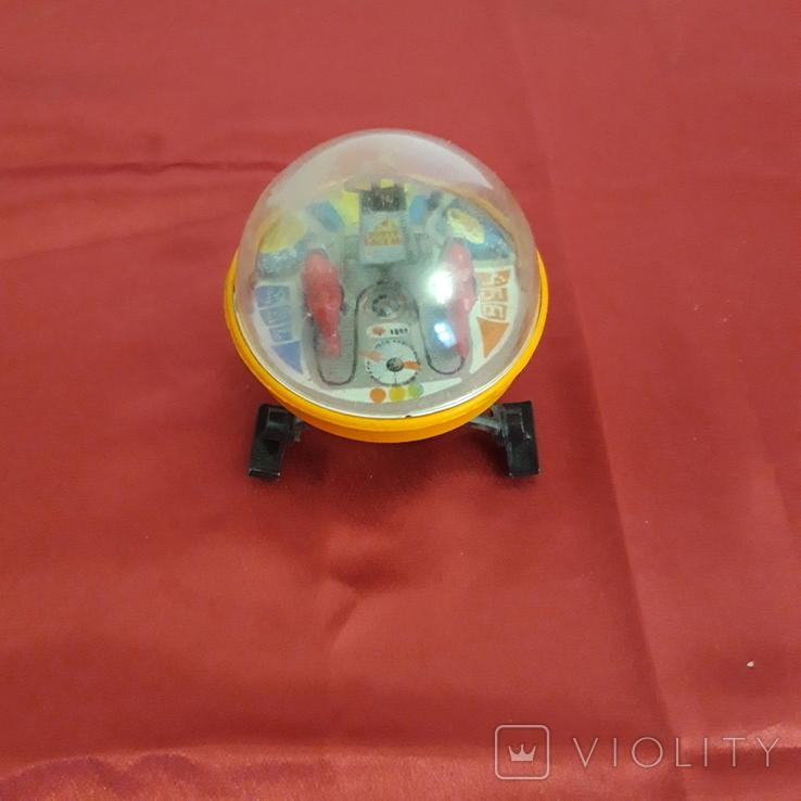 Луноход игрушка СССР, железный локатор, фото №2