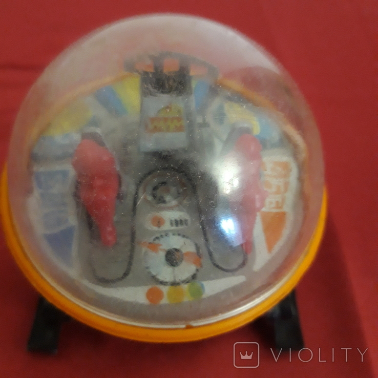 Луноход игрушка СССР, железный локатор, фото №3