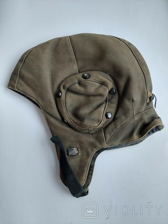 Шлем ШШЗ-78 шумоизоляционный зимний для ВВС СССР, фото №2