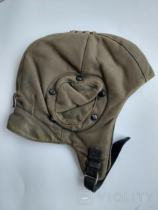 Шлем ШШЗ-78 шумоизоляционный зимний для ВВС СССР, фото №3