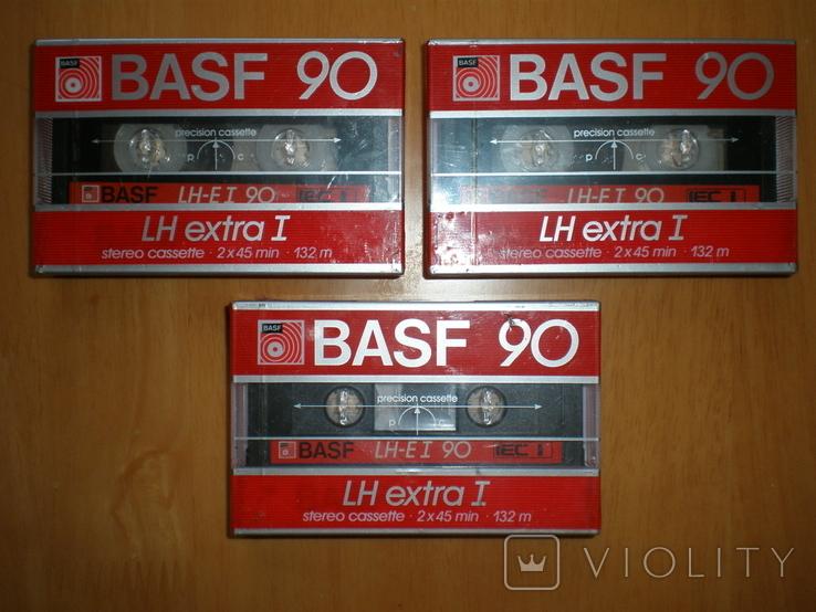 Аудиокассеты BASF 90 LH extra1. W. Germany., фото №3
