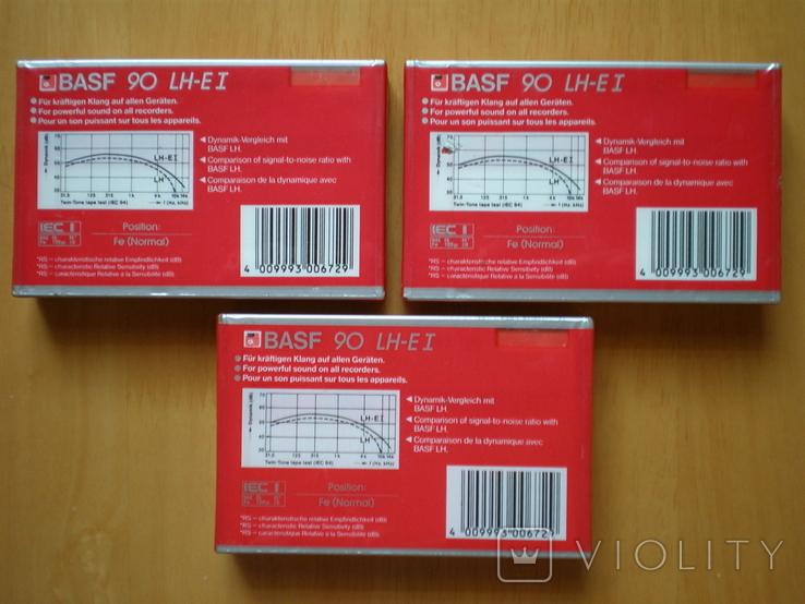 Аудиокассеты BASF 90 LH extra1. W. Germany., фото №4