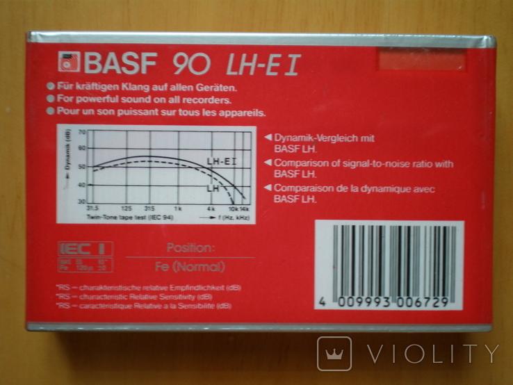 Аудиокассеты BASF 90 LH extra1. W. Germany., фото №6