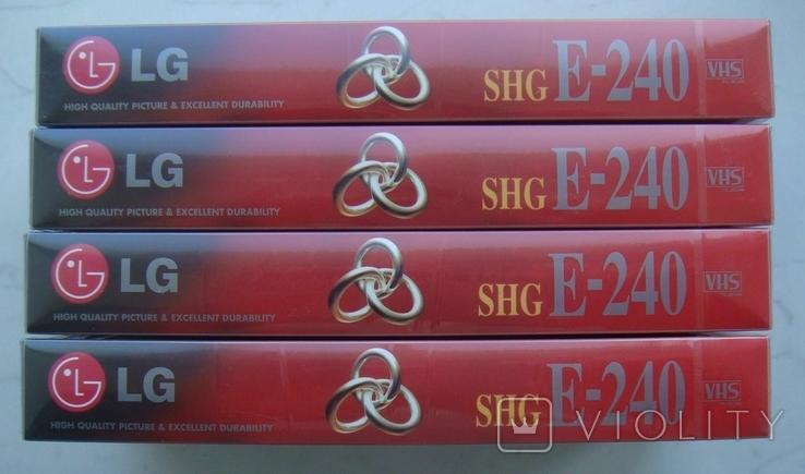 Видеокассеты новые Е-240 (4 шт), фото №3