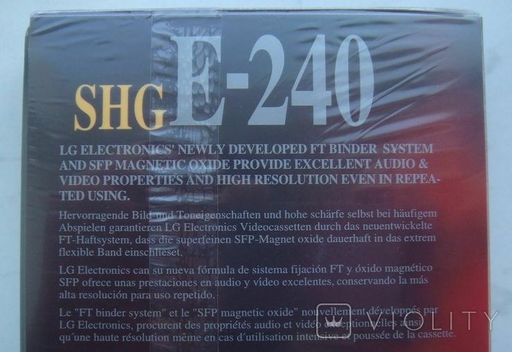 Видеокассеты новые Е-240 (4 шт), фото №9