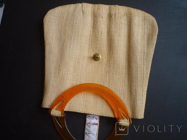 Сумочка плетённая, фото №6