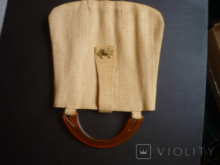 Сумочка плетённая, фото №7