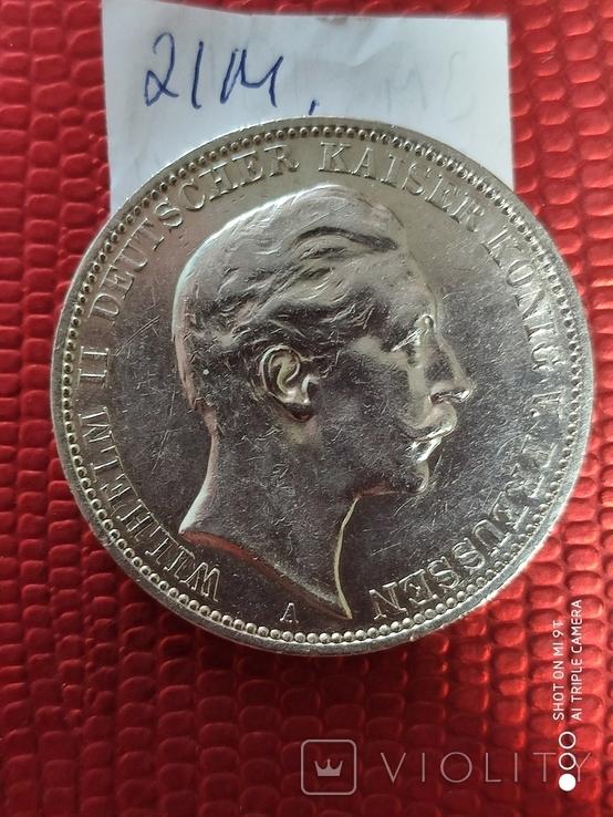 3 Марки Вильгельм 2 1911г., фото №7