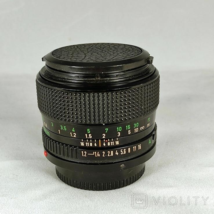 Canon FDn 50mm f1.2., фото №2