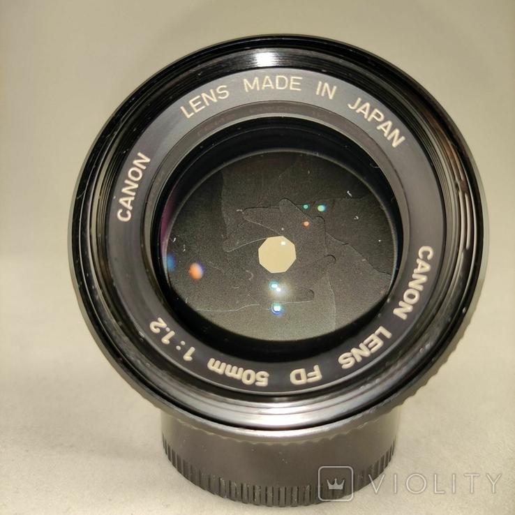 Canon FDn 50mm f1.2., фото №8
