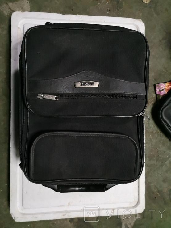 Сумка чемодан дипломат мужской портфель, фото №2