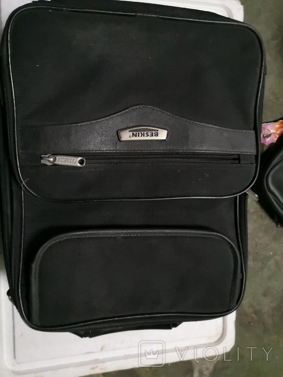 Сумка чемодан дипломат мужской портфель, фото №6